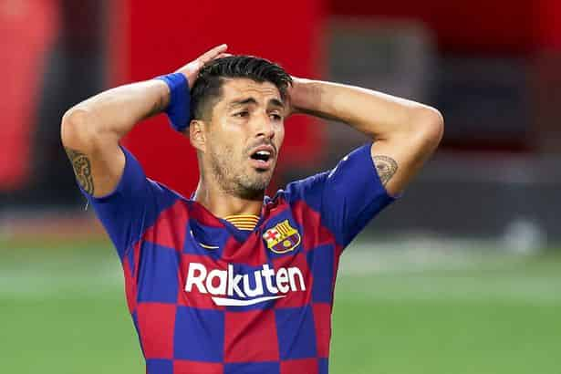 Luis Suarez tests positive for coronavirus and will miss Barcelona reunion