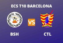Photo of ECS T10 Barcelona Dream11 Fantasy Prediction: BSH vs CTL