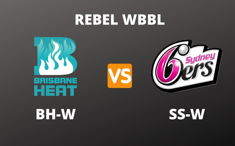 REBEL WBBL Dream11 Prediction