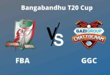 Photo of Bangabandhu T20 Cup Dream11 Fantasy Prediction: FBA vs GGC