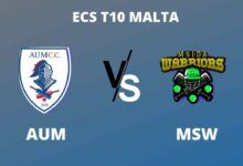 Photo of ECS T10 Malta Dream11 Fantasy Prediction: AUM vs MSW