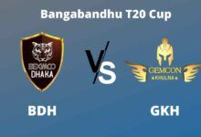 Photo of Bangabandhu T20 Cup Dream11 Fantasy Prediction: BDH vs GKH