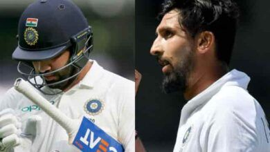 BCCI releases an update regarding Rohit Sharma and Ishant Sharma