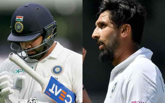 BCCI releases an update regarding Rohit Sharma and Ishant Sharma