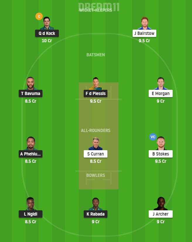 SA vs ENG vs 1st T20I