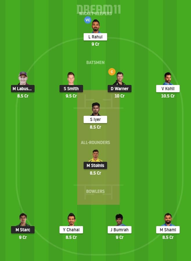 AUS vs IND 1st ODI
