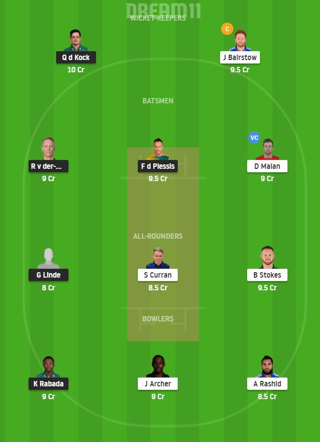 SA vs ENG 3rd T20I