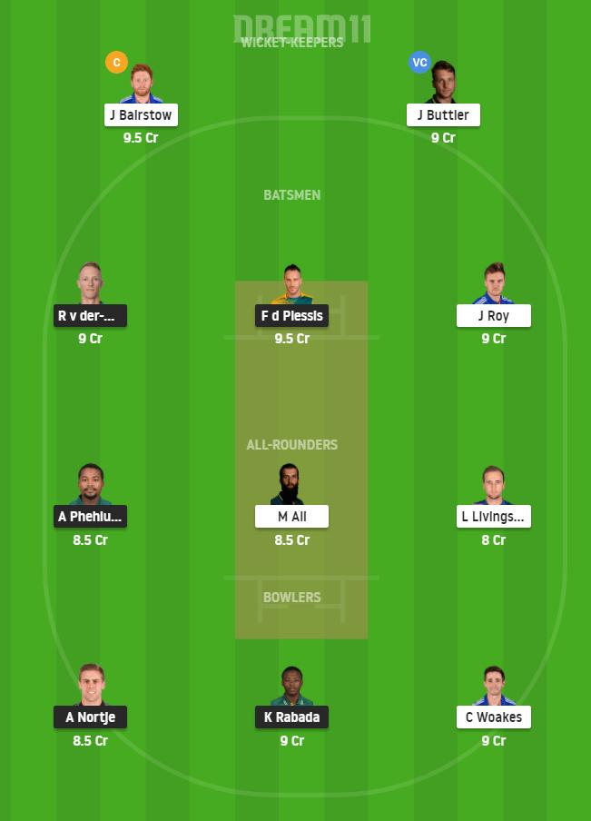 SA vs ENG 1st ODI