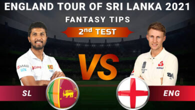 Photo of SL vs ENG 2nd Test Dream11 Prediction, Player Details, Top Picks, Predicted XI