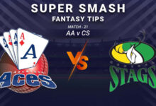Photo of AA vs CS Dream11 Prediction, Player Details, Top Picks, Predicted XI | Super Smash T20