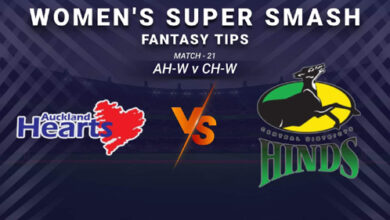 Photo of AH-W vs CH-W Dream11 Prediction, Player Details, Top Picks, Predicted XI | Women's Super Smash T20