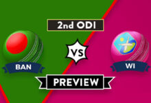 Photo of BAN vs WI 2nd ODI Dream11 Prediction, Player Details, Top Picks, Predicted XI