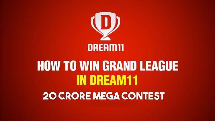 How to win the 20 Crore Mega Contest In Dream11