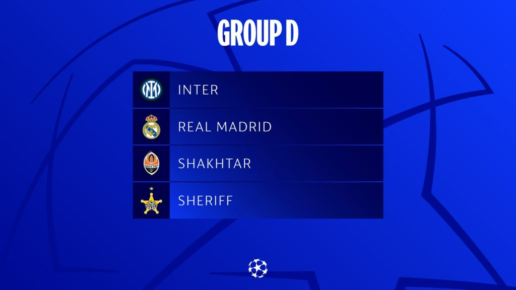 UEFA Champions League Draw: Prediction and Analysis for Each Group | The  Sports Tattoo